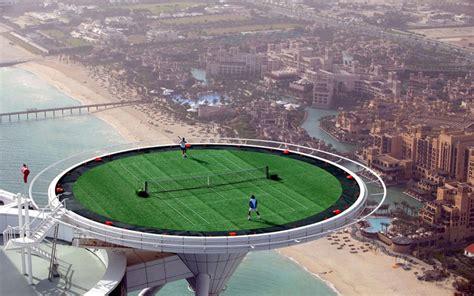 Media Room Storage - 5 spectacular tennis courts around the world