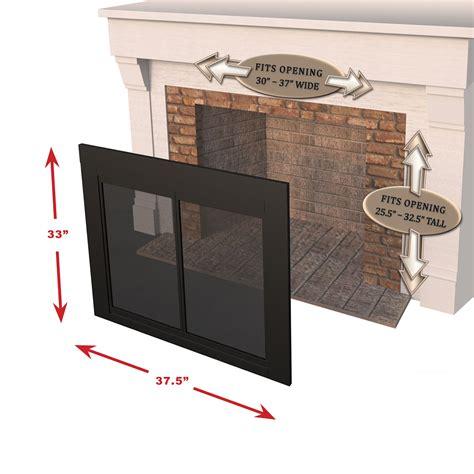 Fenwick Fireplace Doors by Pleasant Hearth Fn 5701 Fenwick Fireplace Glass Door