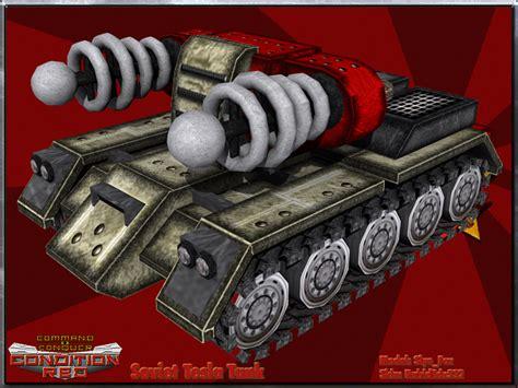 Tesla Tank Soviet Tesla Tank Image Cnc Condition Mod For C C