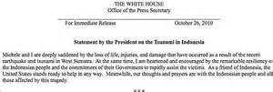 white house press release white house forgets how to spell michelle obama s name daily mail online