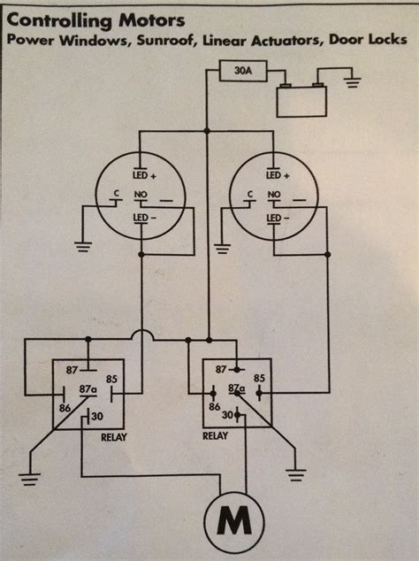 rod power window wiring diagram free