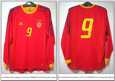 Kaos National Football Spain 02 by Football Shirt Collection 02 04 Spain National Team