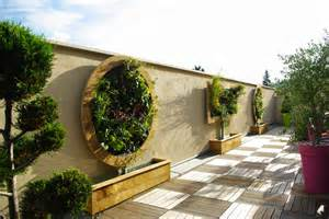 mur vegetal jardin vertical accueil design et mobilier