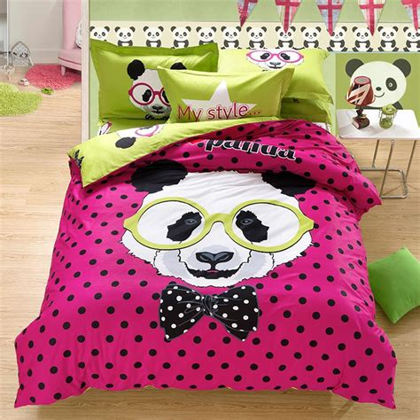 panda comforter set polka dot bedding kids promotion shop for promotional