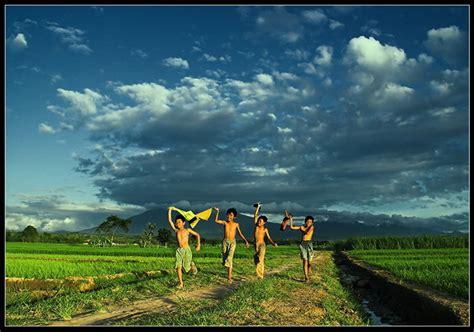 gambar pemandangan desa indah desa wisata 300x210 gambar