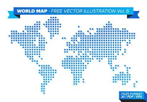 world map illustration 2 world map free vector illustration vol 6 free