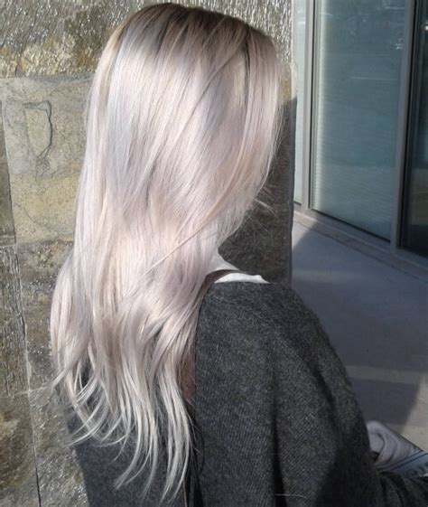 pics of platnium an brown hair styles 23 best platinum blonde hair colors and highlights for 2018