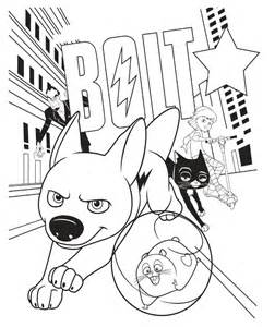 bolt coloring pages to print az coloring pages