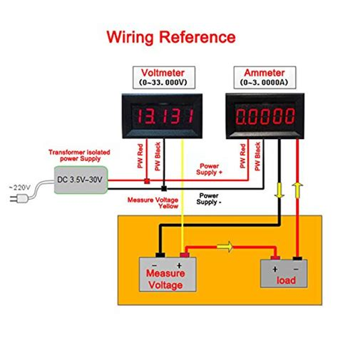 wiring diagram for automotive voltmeter wiring