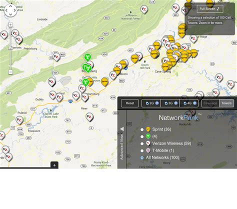cell tower map will you cell phone coverage in your new home nrvliving real estate simplified nrvliving