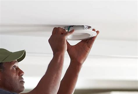 installing led recessed ceiling lights learn to install recessed lighting at the home depot