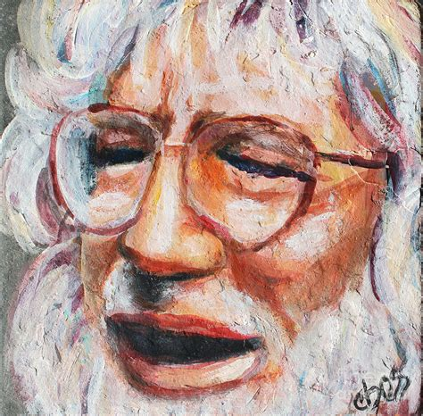 jerry painting jerry garcia painting by carol
