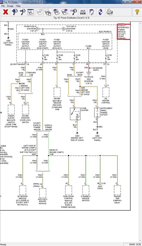 wiring diagram dodgeforum
