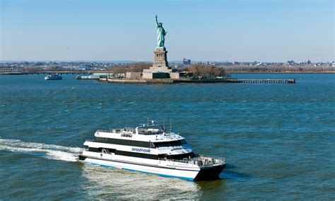 mothers day boat ride nyc seastreak in new york ny groupon
