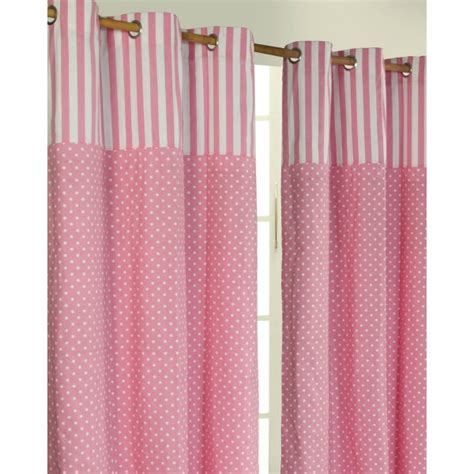 target ready made curtains polka dots pink ready made eyelet curtain pair 117 x 137