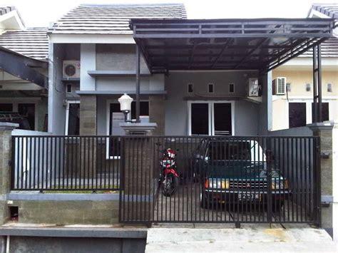Harga Alarm Pintu Rumah Sederhana 60 model pintu pagar rumah minimalis dari kayu dan besi