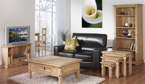 Living Room Wooden Furniture Photos Comfortable Living Room Interior Design With Beautiful Wood Living Room Furniture And Black