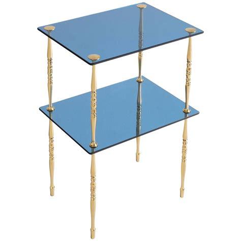 Blue Side Table Arte Cobalt Blue Side Table For Sale At 1stdibs