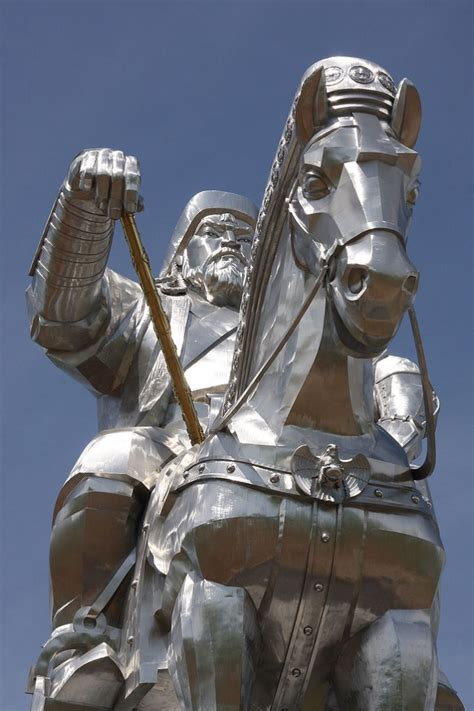 genghis khan equestrian statue wikipedia 40 epic statue pictures