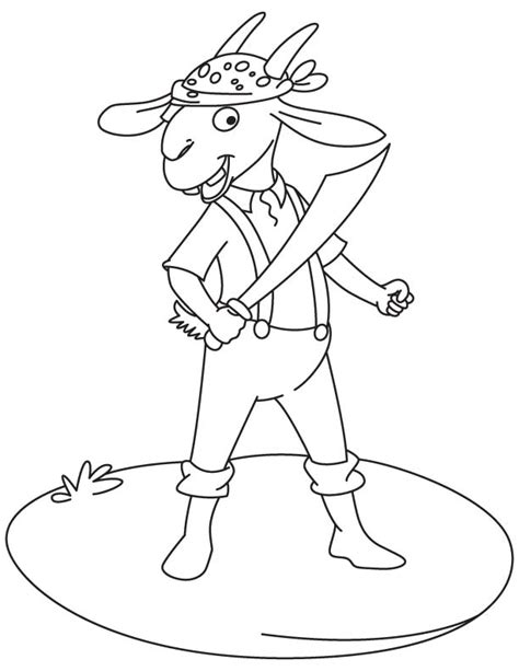 pygmy goat coloring page pygmy goat coloring pages with sword page grig3 org