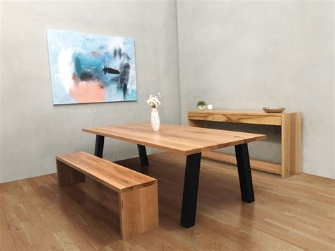 dining table bench seat bench seat dining table australia lumber furniture