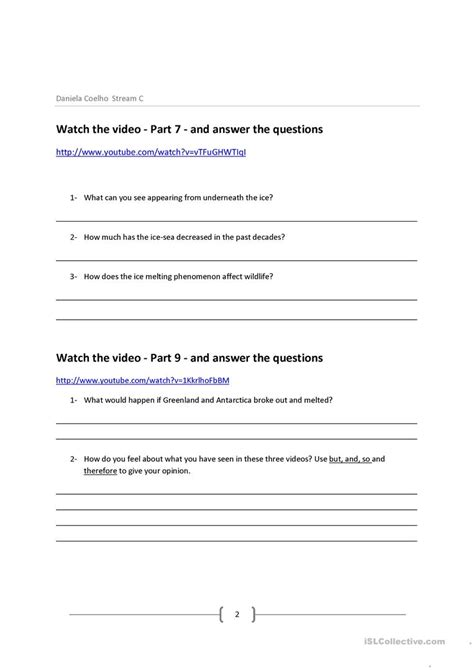 An Inconvenient Worksheet Answers by Uncategorized An Inconvenient Worksheet