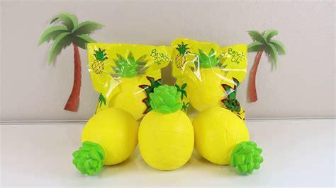 Kiibru Pinapple scented jumbo pineapple squishy