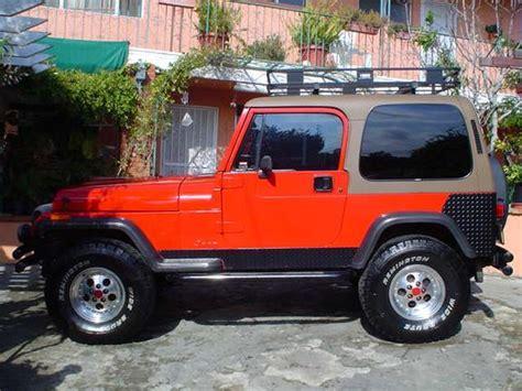 1994 Jeep Wrangler Weight Veedos95 1994 Jeep Wrangler Specs Photos Modification