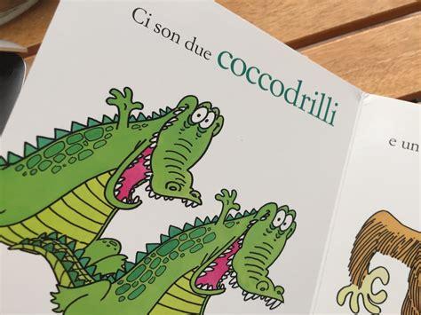 due coccodrilli testo i due liocorni libricino cartonato molto resistente cd