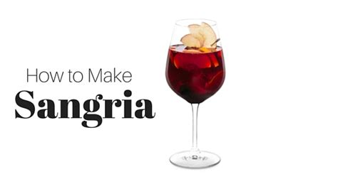 pantry raid how to make sangria from scratch