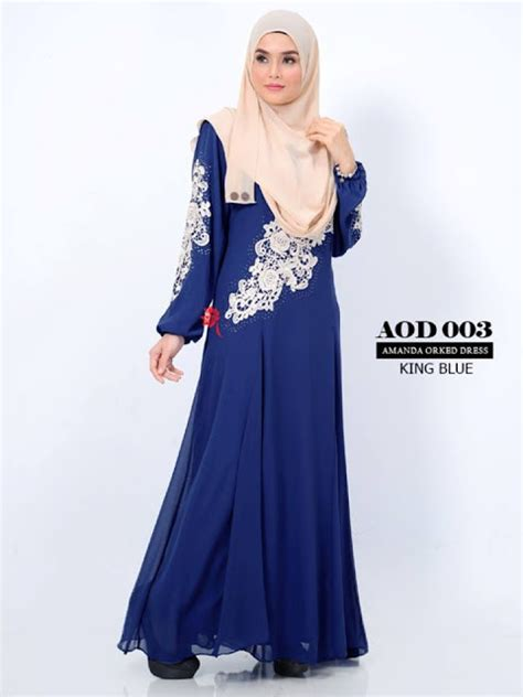Baju Maxi Amanda Dress norzi beautilicious house amanda orked dress