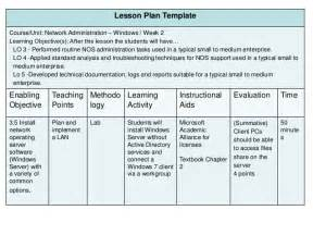Curriculum Development Template by Developing A Competency Based Curriculum