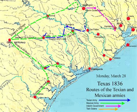 bernie texas map the battle of san jacinto
