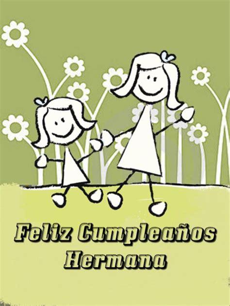 imagenes d feliz cumpleanos para mi hermana feliz cumplea 241 os hermana ツ tarjetas de feliz cumplea 241 os ツ