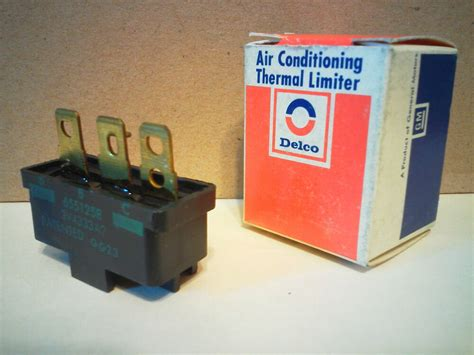 chevy gm ac delco air conditioning compressor thermal limiter fuse switch nos ebay