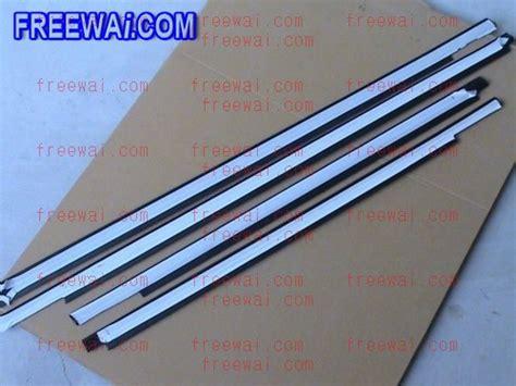 Window Rubber Chery Qq door window glass inner and outer sealing felt brush rail