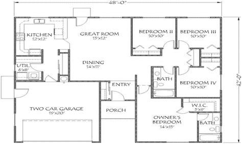 home floor plans under 1500 sq ft house plans under 1500 sq ft open floor plans under 1500