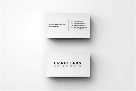 how to make a simple business card simple minimal business card by nazdrag on deviantart