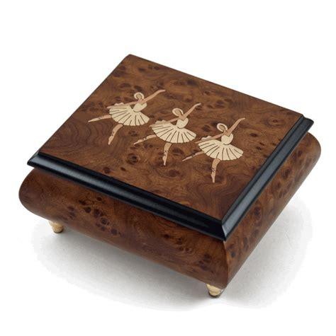 Wooden Musical ballerina musical jewellery box wooden musical jewelry