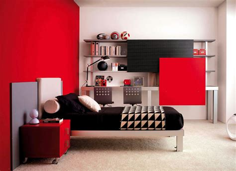 red and white girls bedroom habitaci 243 n para j 243 venes de madera tiramolla by roche