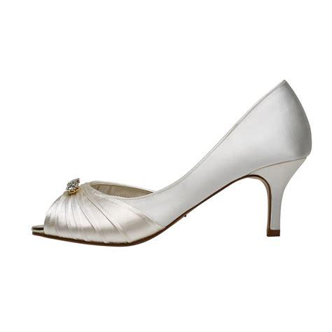 arabella shoes rainbow club arabella ivory peep toe brooch shoes shoes
