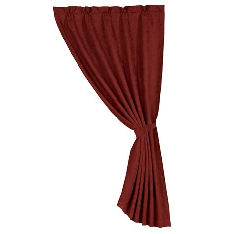 suede curtains sale sierra red faux suede curtain