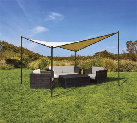 coolaroo gazebo butterfly 4 m square gazebo coolaroo