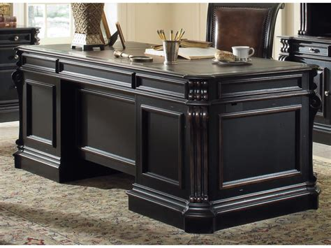 Executive Office Desks For Home Furniture Home Office Telluride 76 Quot Executive Desk W Wood Panels 370 10 563 Bartlett
