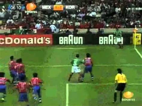 mexico vs corea sur m 233 xico vs corea sur 3 1 francia 1998