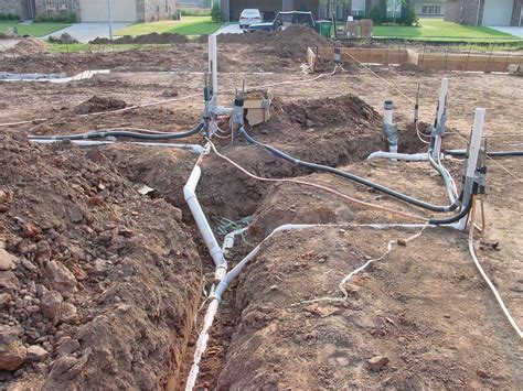 Slab Plumbing In by 10942 Construction Progress