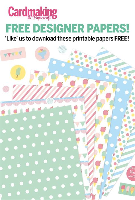 Free Card Papers - 105 best free designer papers images on free