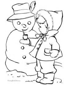 snowman coloring sheets snowman coloring child coloring