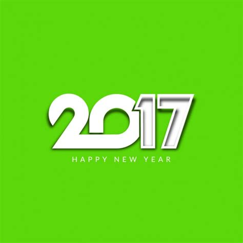 shiny new year green shiny new year 2017 background vector free