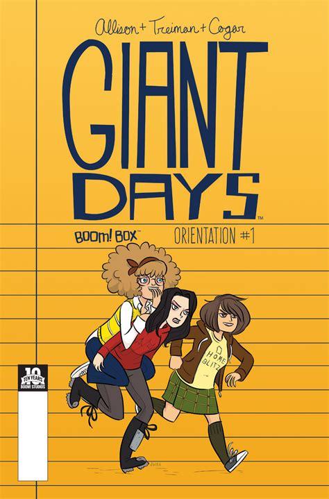 libro giant days 1 giant days gets gianter forbidden planet blog